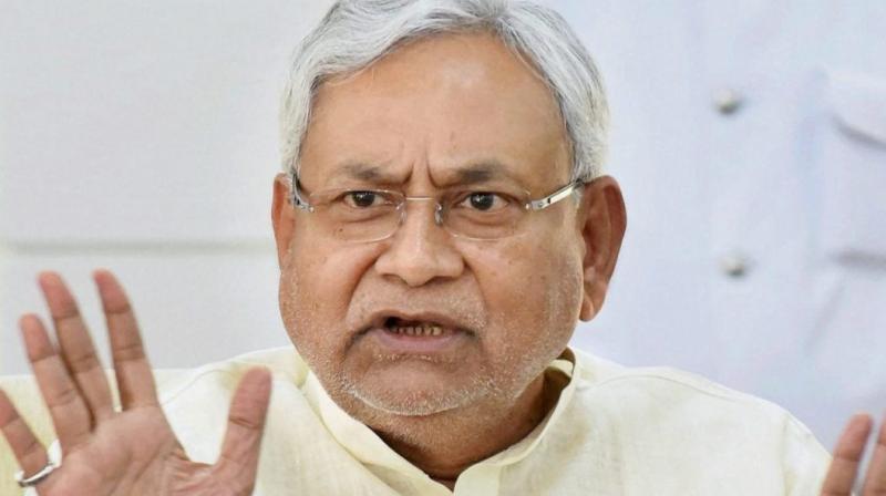 Bihar Chief Minister Nitish Kumar (PTI file photo)