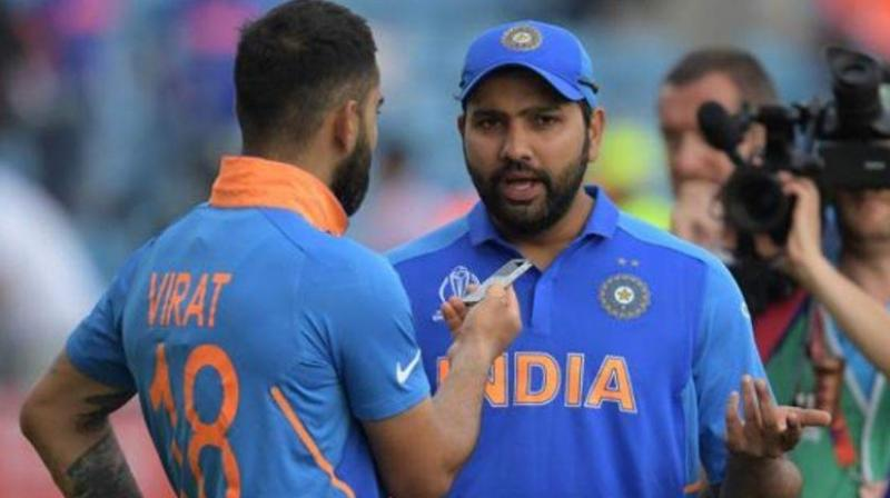 On the issue of split-captaincy, BCCI president Sourav Ganguly had previously said that India doesn't need split-captaincy between Rohit Sharma and Virat Kohli. (Photo: AFP)