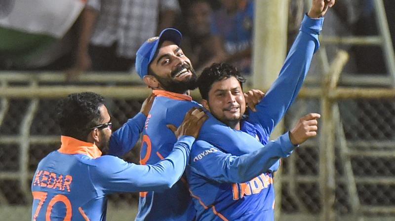 India have everything going their way as they head into the third and final ODI against the West Indies here on Sunday eyeing a 10th straight bilateral series win over the Caribbean side. (Photo: PTI)