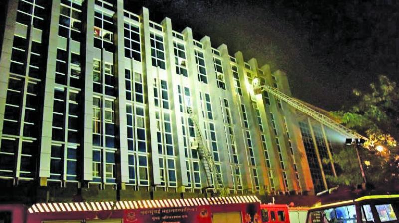ESIC's Kamgar Hospital, Andheri.
