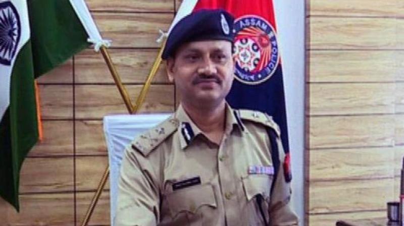 Guwahati Police Commissioner Hiren Nath