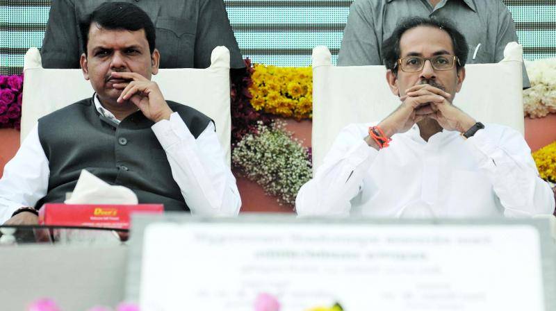 Maharashtra Chief Minister Uddhav Thackeray on Sunday taunted former CM Devendra Fadnavis over the latter's impassioned pre-poll