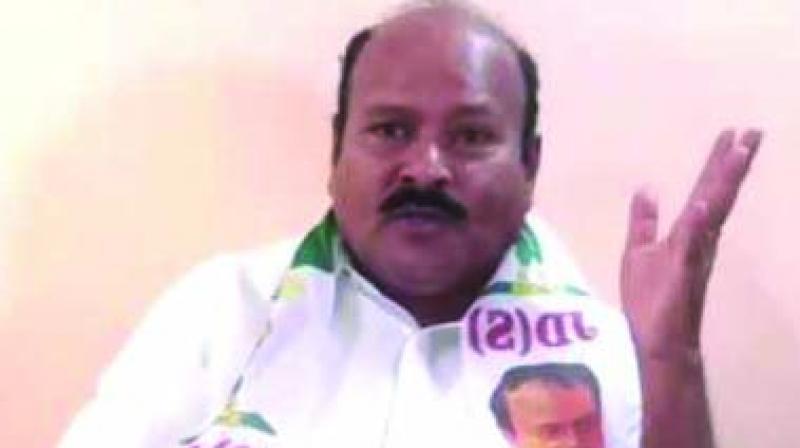 JDS Karnataka chief H.K Kumaraswamy