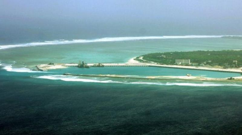 China claims most of the resource-rich South China Sea through which about $5 trillion in ship-borne trade passes every year. (Photo: Representational Image)