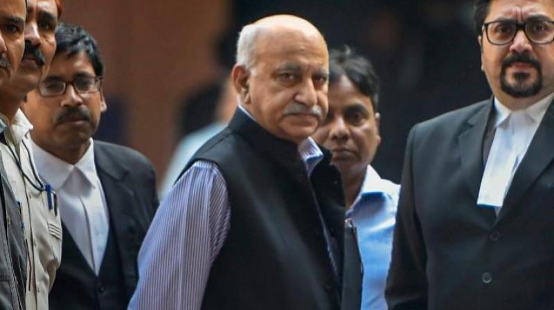 Former union minister M J Akbar. (PTI)