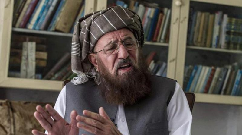Maulana Samiul Haq, 82, was the head of the Islamic religious seminary Darul Uloom Haqqania in Khyber Pakhtunkhwa's Akora Khattak town and also the chief of the hardline political party Jamiat Ulema-i-Islam-Sami (JUI-S). (Photo: Twitter | ANI)