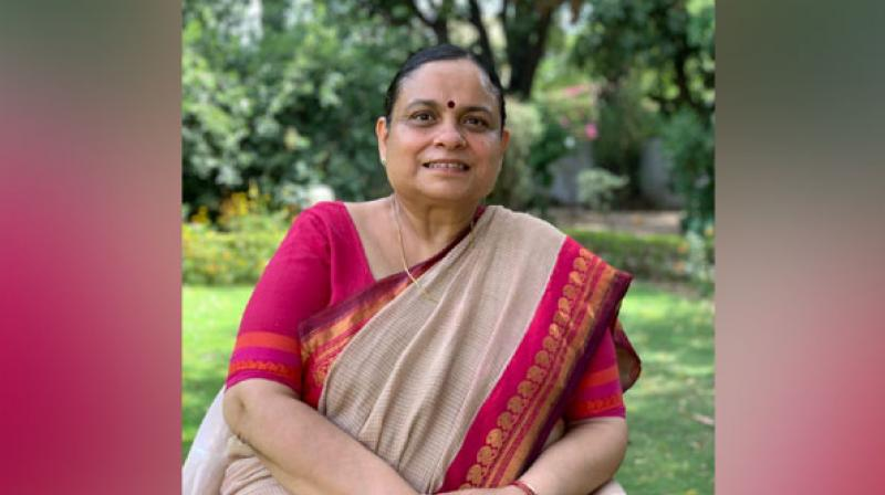58-year-old Keshni Anand Arora has served as additional chief secretary in the Haryana government, and financial commissioner, Revenue and Disaster Management and Consolidation Departments. (Photo: ANI)