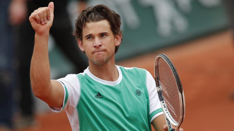 French Open 2017 Dominic Thiem Defeats Novak Djokovic In Straight Sets To Set Up Semi Final Clash With Rafael Nadal