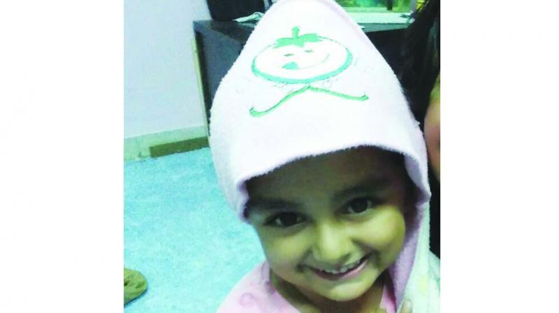 Junera Khan, the 3-year-old victim