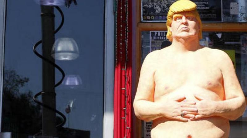 Statue of Donald Trump. (Photo: AP)