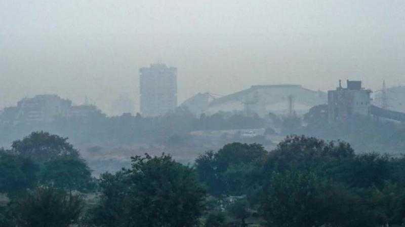 Air quality index (AQI) in several areas of Delhi-NCR fell to the 'very poor' category today. (Photo: PTI)