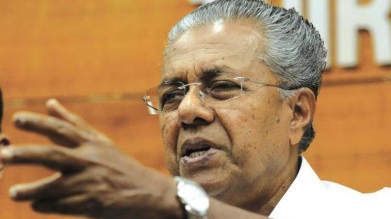 'Maari nilkku angottu' (Stay away), the Chief Minister, in an agitated mood, shouted at the media persons when they approached him for his version of record polling in the last three decades in the general elections. (Photo: File)