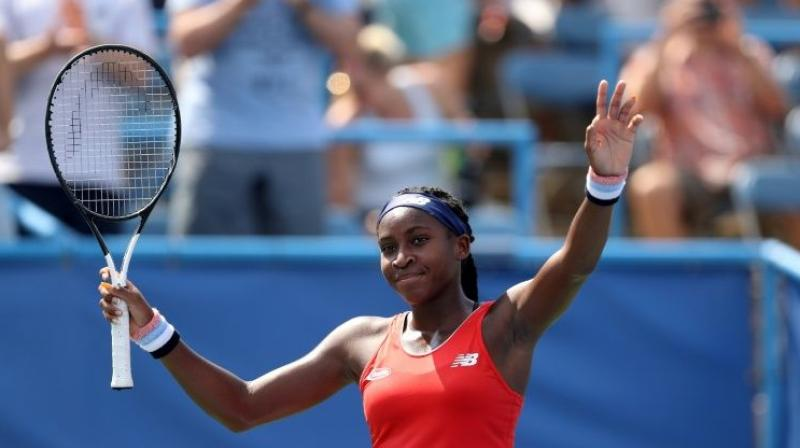 After seeing off five-times Wimbledon champion Venus Williams on the way to reaching the last 16 at the All England Club this year, Coco Gauff enters the final Grand Slam of 2019 with the kind of megawatt attention usually reserved only for the sport's highest echelon. (Photo:AFP)