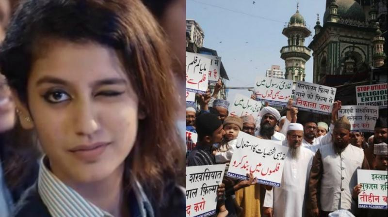 After a fatwa and police complaint, Raza Academy are the latest to protest against Priya Prakash Warrier starrer song 'Manikya Malaraya Poovi'.