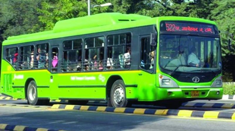 At present, the corporation has a fleet of 3,781 low-floor AC and non-AC buses, which are being operated through 40 bus depots across the national capital. (Representational image)