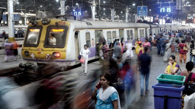 File picture of Chhatrapati Shivaji Maharaj Terminus (CSMT) station.