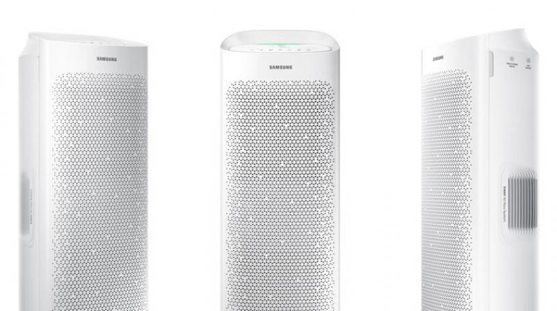 Samsung, the well-known home appliance maker, released the AX7000 air Purifier last month.