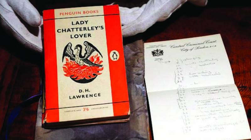 In Michael Ellis' (Britain's arts minister) words, 'the trial of Lady Chatterley's Lover captured public attention in 1960.