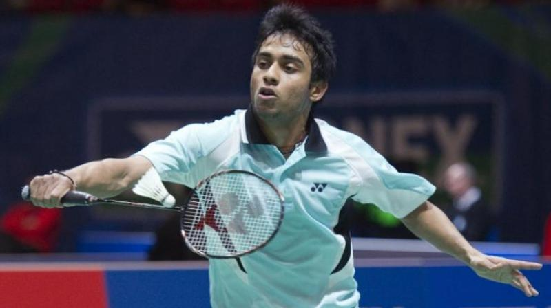 Second seed Sourabh, who has won the Hyderabad Open and Slovenian International earlier this year, recovered from a mid-game slump to beat Sun 21-12 17-21 21-14 in the summit clash which lasted an hour and 12 minutes. (Photo: File)