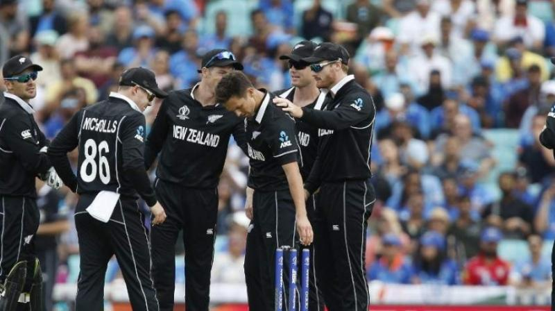New Zealand Cricket on Friday announced their squad for the upcoming T20I series against England without Kane Williamson, who is suffering from a right hip injury. (Photo:AFP)
