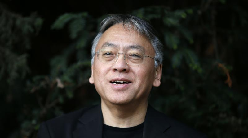 Ishiguro left Japan when he was five and moved to Britain, only returning to visit his native land as an adult three decades later. (Photo: AP)