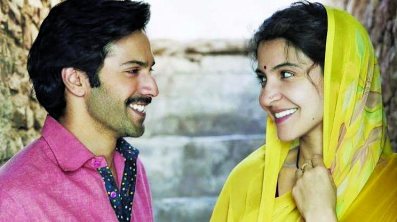 A still from the film Sui Dhaaga - Made in India