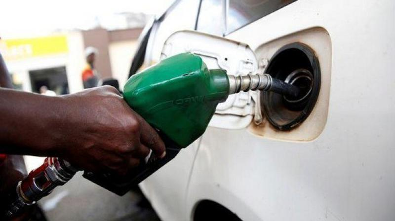 Diesel price on Monday scaled a new high after prices were hiked for the 22nd time in just over three weeks. (ANI Photo)