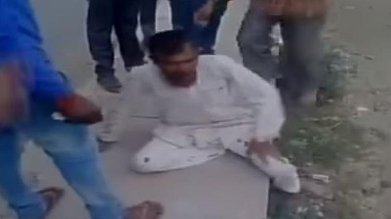 55-year-old Pehlu Khan was beaten to death on April 1 in Rajasthan's Alwar district by a mob of gau rakshaks. (Photo: Screengrab)