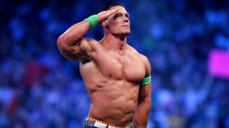 Cena also took to Twitter, thanking Nickelodeon for letting him 'drop the mic.'