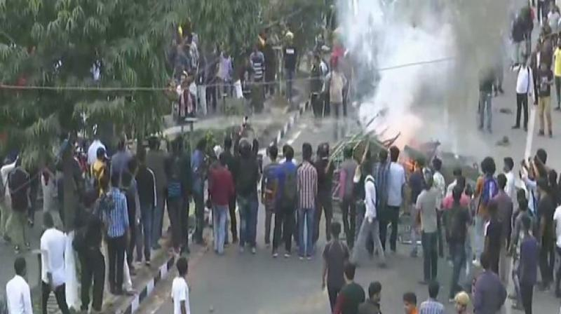 All Assam Student's Union has called for a protest at 11 am in Guwahati. (Photo: ANI)