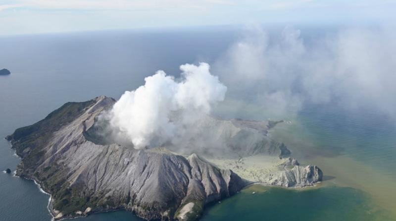 The volcano, a popular tourist day-tripper destination, erupted on Monday, spewing ash and steam over the island. (Photo: AP)