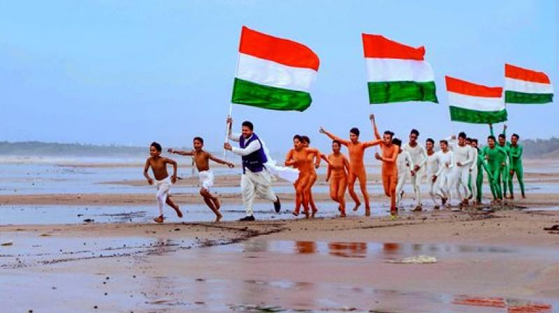 9580b409417a8 India celebrates its 72nd Independence Day having won freedom from the  shackles of British colonialists in