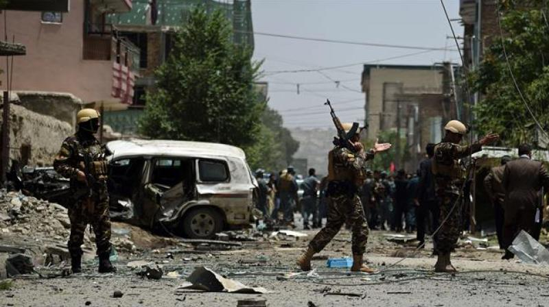 The majority of the dead belong to Afghan forces and most of the wounded are civilians, the source said. (Photo: Representational/AFP)
