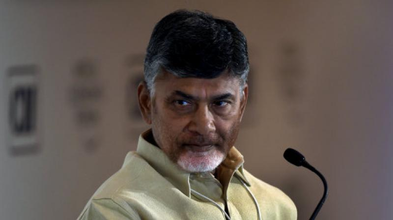 Naidu is currently in Dubai, but had an emergency tele-conference session with TDP MPs, including two Union Cabinet ministers on Thursday to discuss further action. (Photo: AFP)
