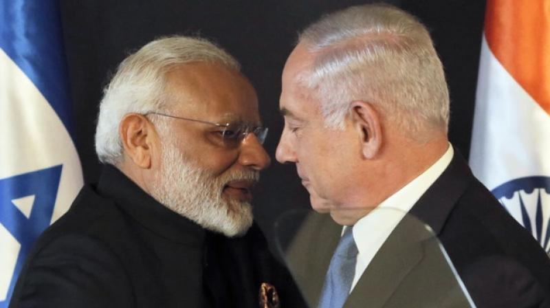 Modi, the first Indian Prime Minister to visit Palestine, is reaching Ramallah on Saturday amid heightened tensions. (Photo: AP)