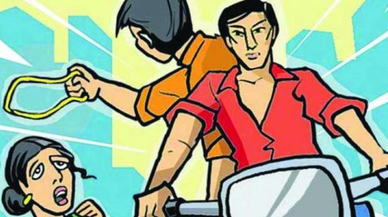 Two bike-borne miscreants allegedly snatched Ms Mehta's mobile phone in front of FICCI Auditorium near Mandi House area on Sunday night. (Photo: Representational Image)