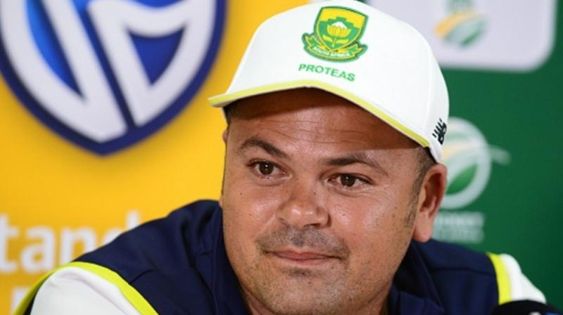 Cricket South Africa (CSA) on Wednesday announced that Charl Langeveldt will be the bowling consultant of the men's team. (Photo:AFP)