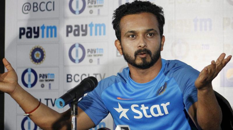 Kedar Jadhav has made the number six position in the Indian batting lineup his own. (Photo: PTI)