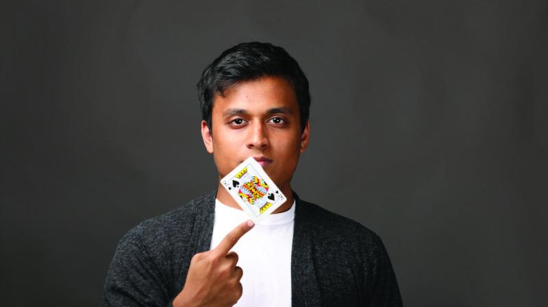 Raised in California, 22-year-old Vivek Desai is India's youngest magician who is self -taught and  has enthralled many across the world through his mind-boggling performances.