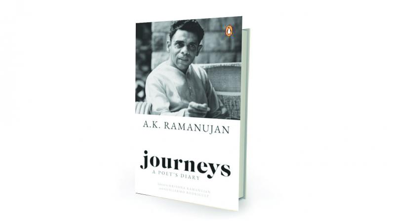 Journeys: A Poet's Diary, edited by Krishna Ramanujan and Guillermo Rodriguez Penguin: Hamish Hamilton, Rs 599.