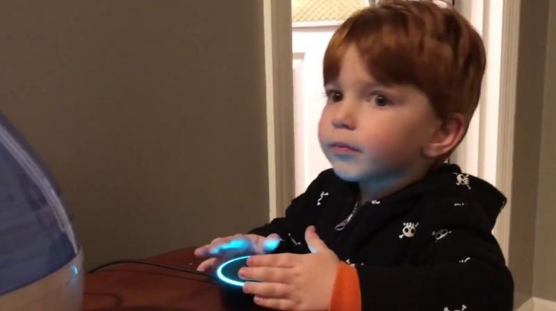 The video captured by the parents, shows the toddler innocently asking the Amazon Echo Dot to play 'tickle tickle', but Alexa, the artificial intelligence started searching for porn websites.