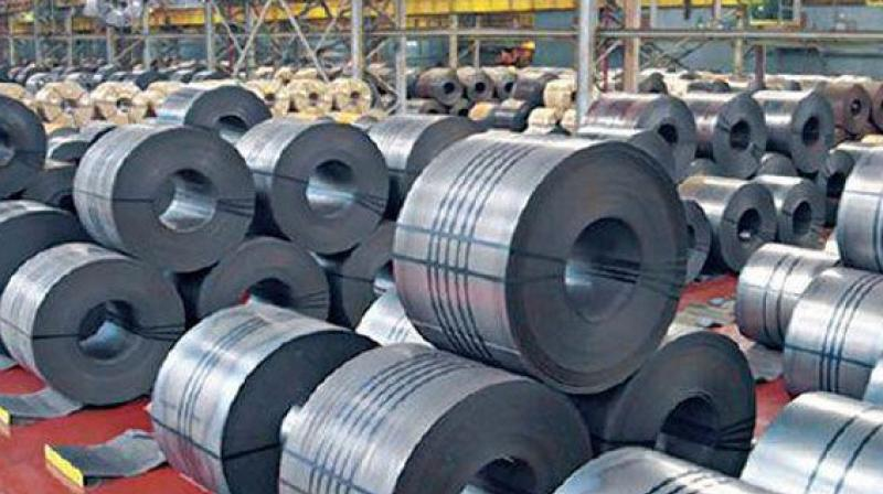 During the month, China produced 70.98 MT crude steel as against 65.02 MT, a jump of 9.2 per cent during same month a year ago. (Representational image)