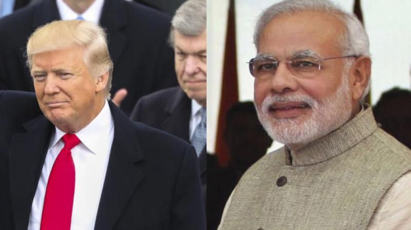 US President Donald Trump and Prime Minister Narendra Modi (Photo: AP)