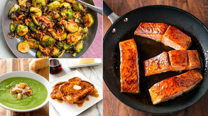From Texan chilli, to brussel sprouts, roasted salmon and shepherd's pie, here are food shots to tantalise you. (Photos: AP)