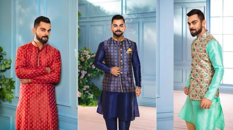 He announced the campaign on social media; where he urged people to wear Indian Ethnic wear on all 5 special days of Diwali.