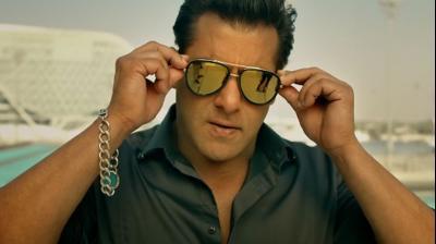 Salman Khan in a still from 'Race 3.'