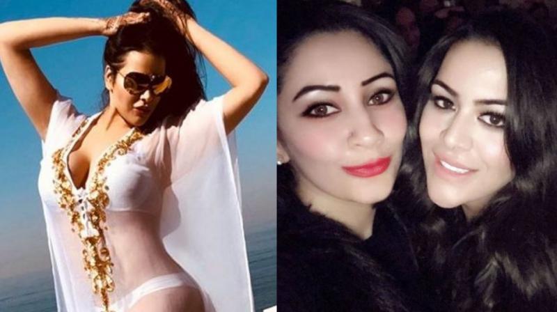 Trishala's bikini picture on which Maanayata replied.