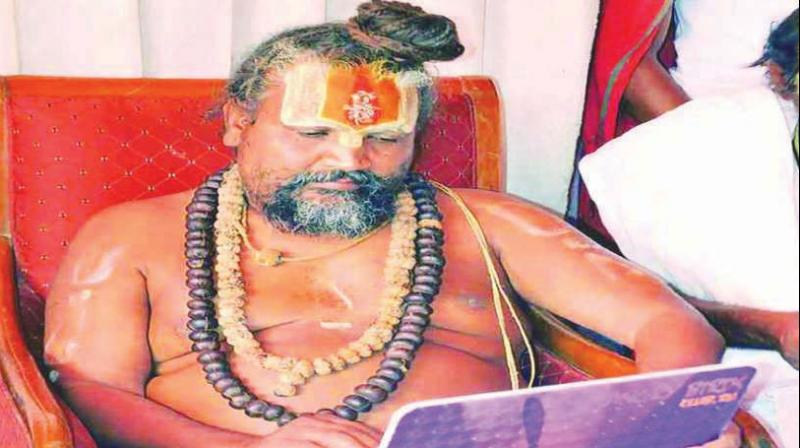 Namdeo Tyagi aka Computer Baba had resigned as minister of state after his request for BJP ticket for 'sadhus' in the MP assembly polls was unheard.