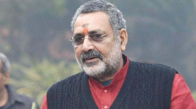 Union Minister Giriraj Singh on Monday asked people to make 'population control law' a movement. (Photo: File)