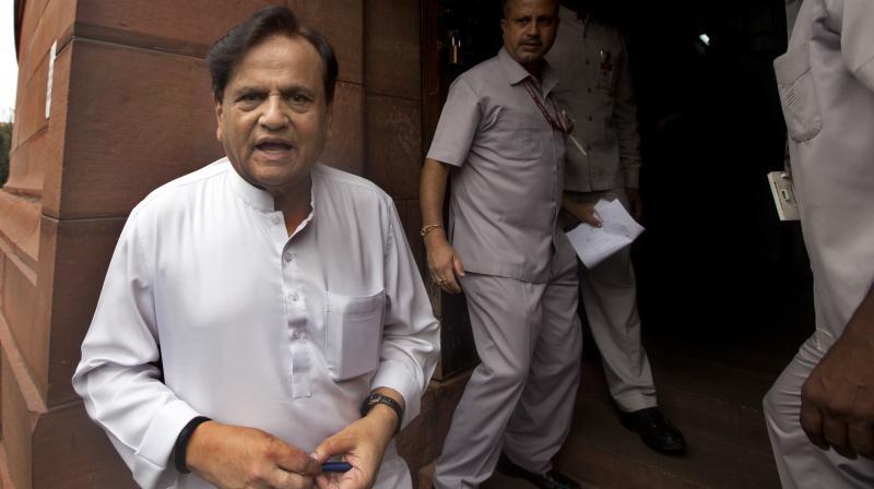 Congress leader Ahmed Patel (Photo: PTI)